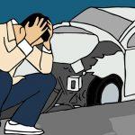 รถจอดอยู่เฉยๆ แต่โดนเฉี่ยวชน ไม่สามารถหาคู่กรณีได้ ประกันจ่ายไหม